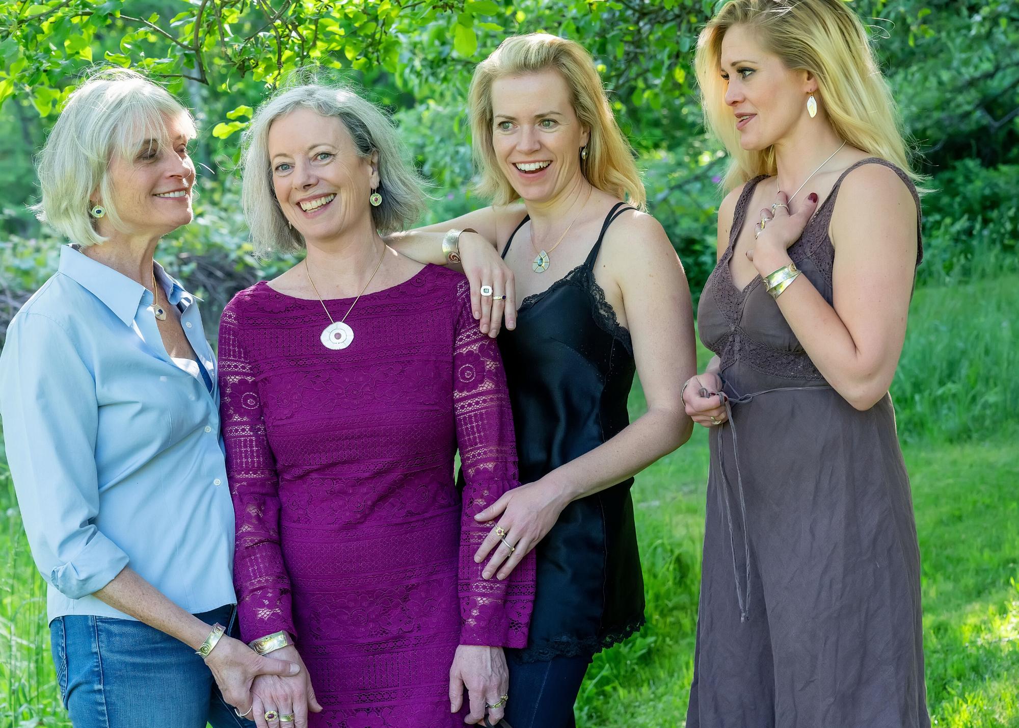 Celebrate Irish Mother's Day With Divinely Feminine Irish Symbolic Jewelry | Jewelry Inspired By Irish Symbols | By Deirdre Donnelly Jewelry Art