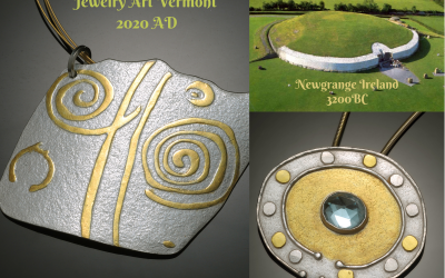 Symbolic Irish Jewelry Connecting You To The Magic of Newgrange Ireland
