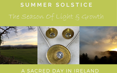 Irish Symbolic Jewelry For The Summer Solstice – The Season of Light and Growth